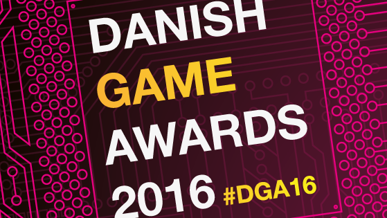 Danish Game Awards 2015 logo